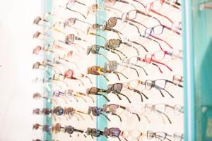 Brillen im Laden